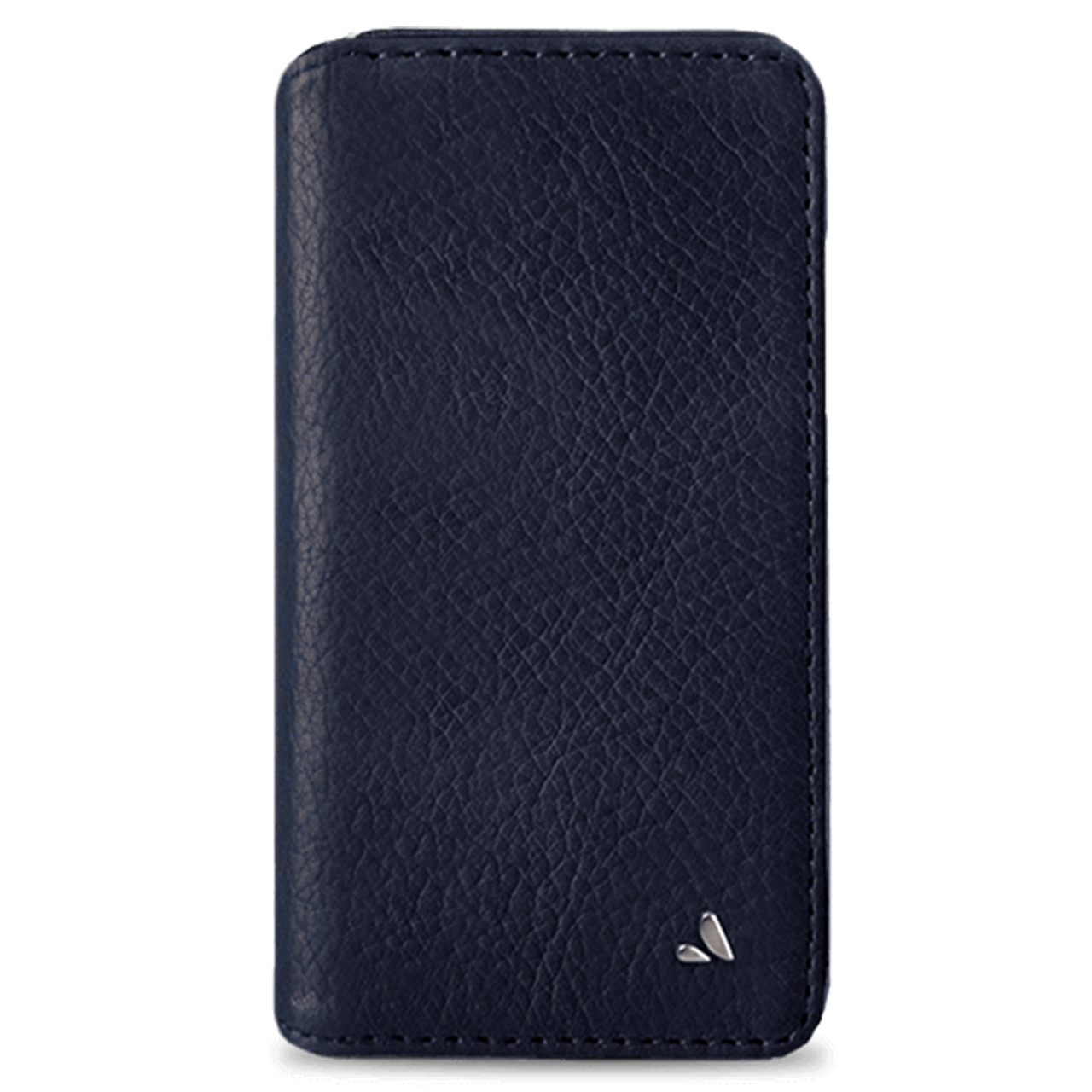 check out 20c8a 37998 Vaja Wallet Agenda Leather Case for iPhone X/Xs - Bridge Blue