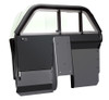Setina Law Enforcement Prisoner Partition Cage with Extra Legroom XL for Cars and SUVs, ideal for more front seat space and gun rack mounting