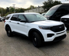New 2021 White Ford (Explorer) Police Interceptor PI Utility V6 Gas Engine AWD For Sale, Ready to be Built as a Marked Patrol Turnkey, + Delivery, Choose Your LED Lighting Colors