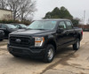 New 2021 V8 Ford F-150 Black 4x4 SSV Special Service Truck, ready to be built as an Admin Package, Slick-Top, choose any color LED Lights, + Delivery