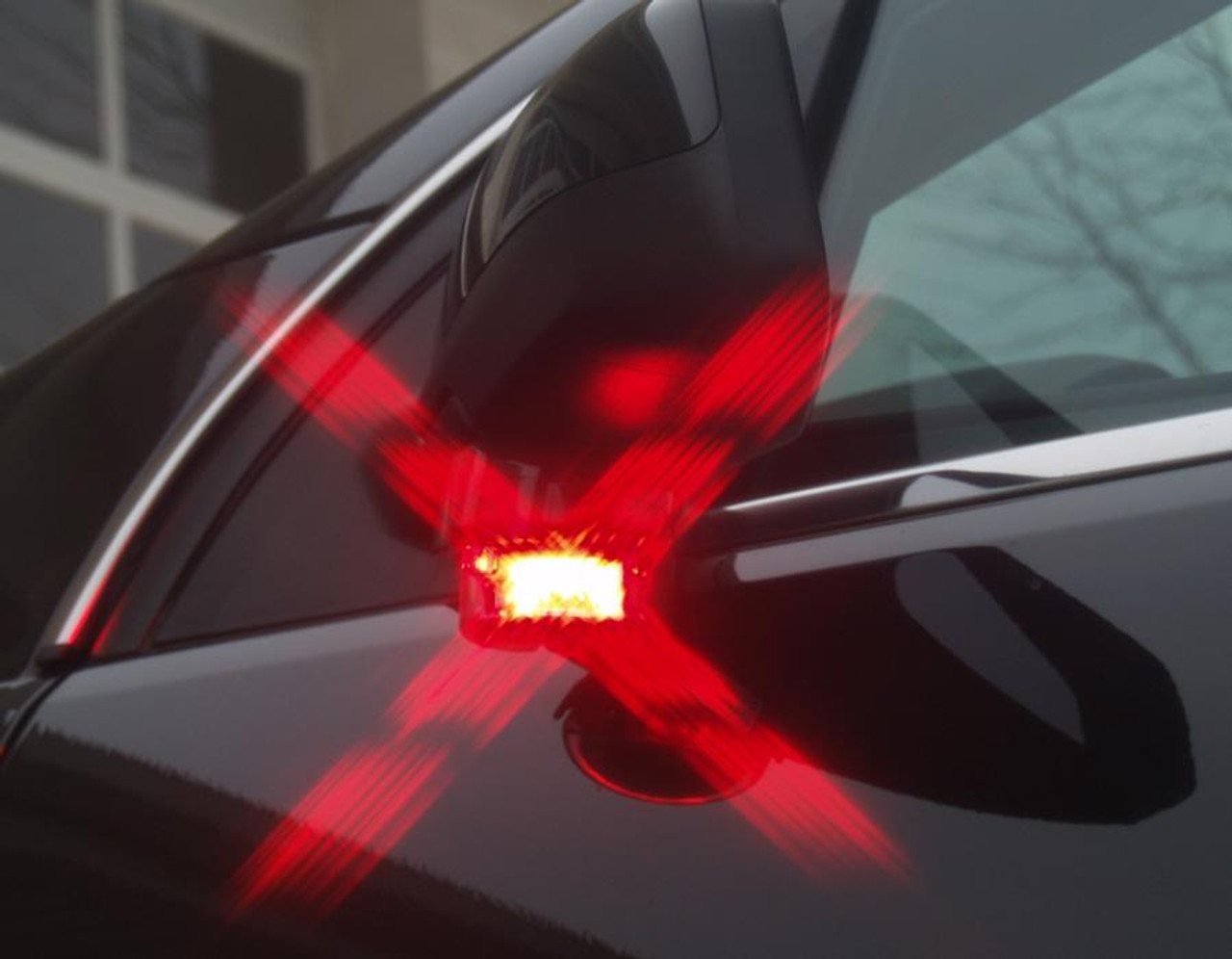 Soundoff Intersector Under Side View Mirror Mount Single or Dual Color LED Light Head, ENT2B3