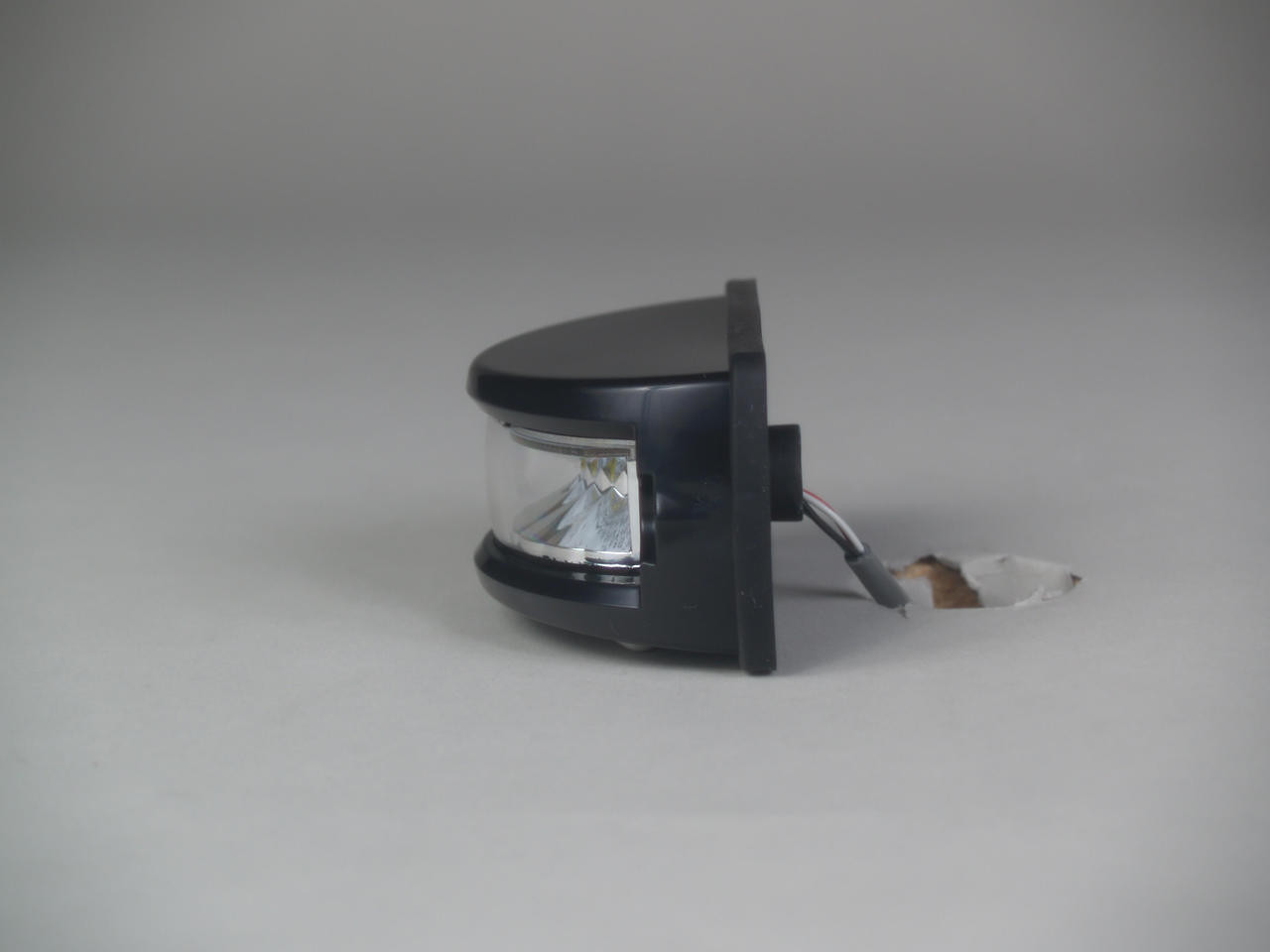 Soundoff ENT3B3 Intersector Surface Mount Single Color LED Light Head, 180 degree wide angle, 8 LEDs, Black White or Chrome Housing