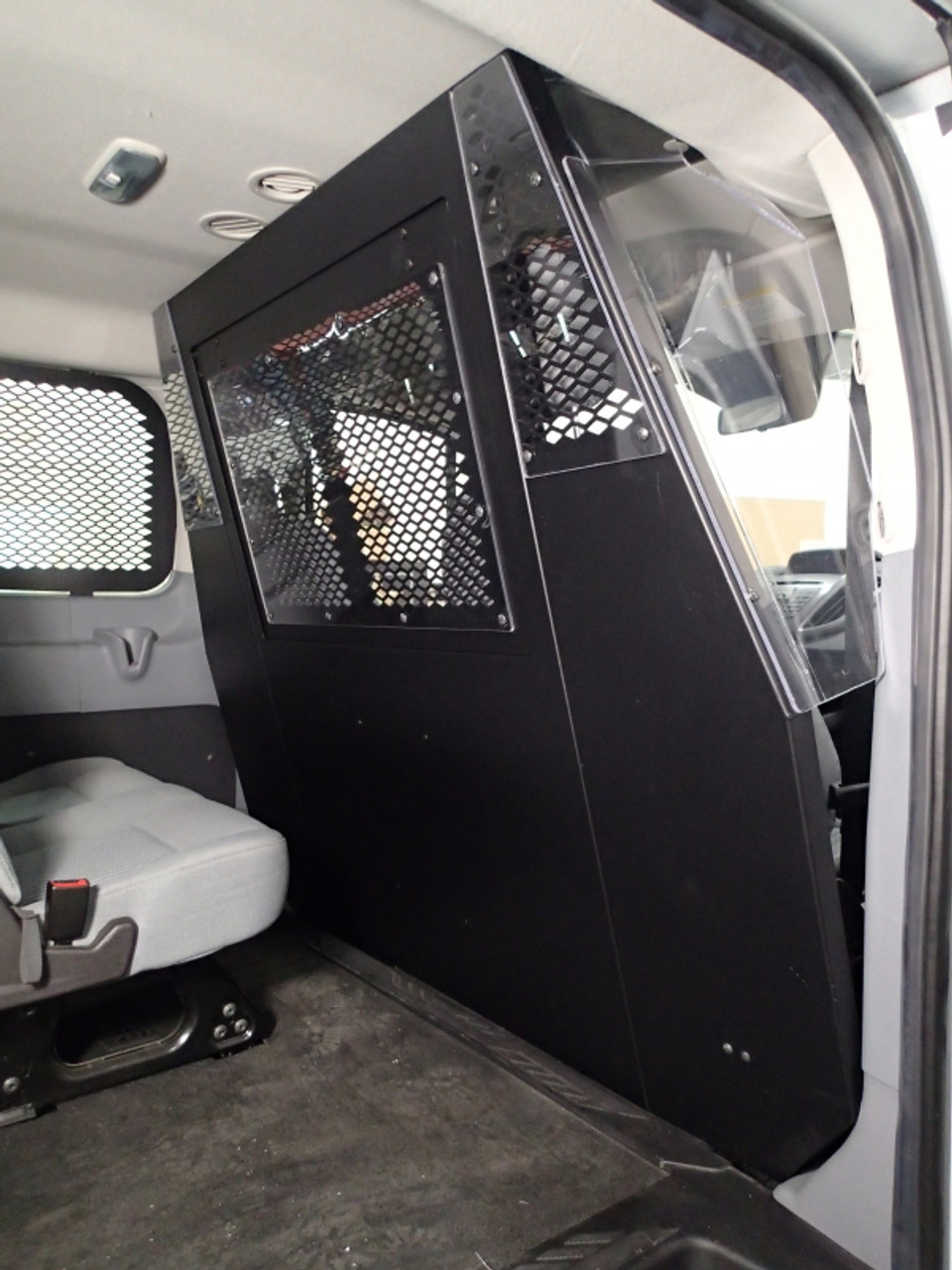 safety window screens for 2015 Ford Transit Low Roof Side swinging cargo doors