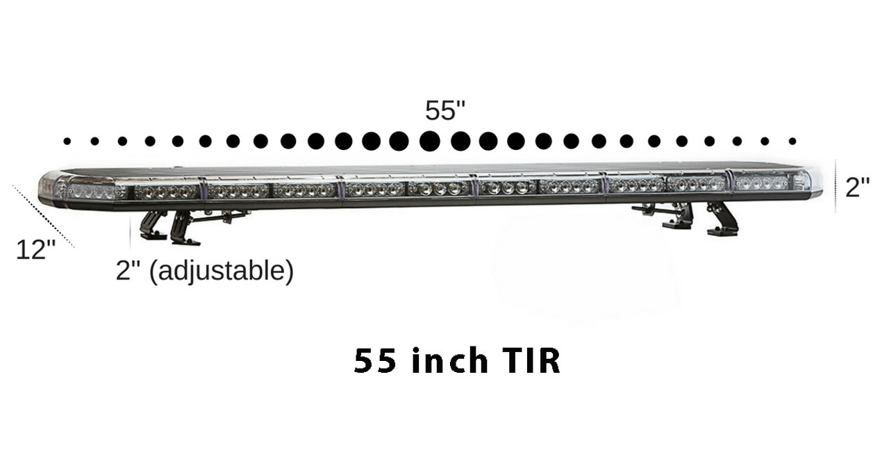 4d982c5a549 Emergency and Law Enforcement Vehicle LED Light Bar by SpeedTech Lights, K-Force  Series