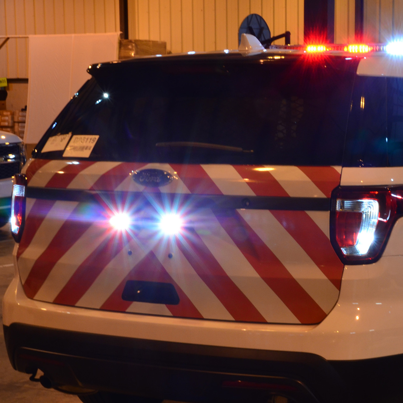 Police and Emergency Vehicle Chevrons Graphics with 3M Reflective Decal Stripes, fit Cars, SUV's, Trucks, Vans