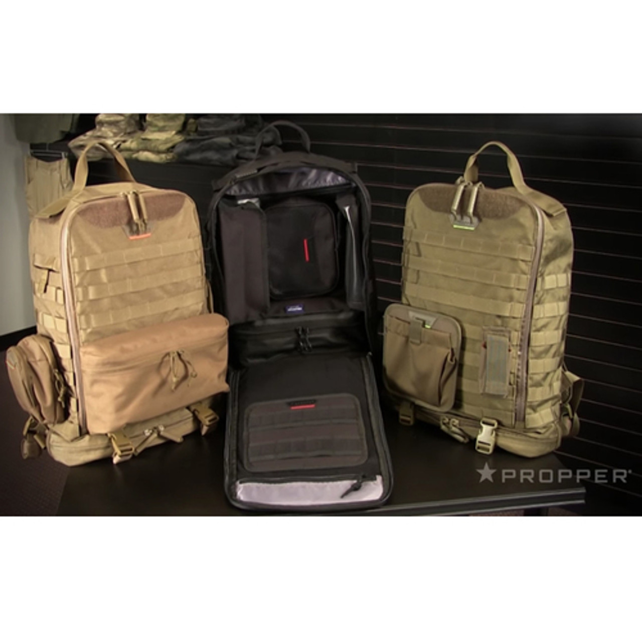 Propper® U.C. Tactical Backack, padded adjustable shoulder straps and sternum strap, available in Black, Coyote Brown and Olive Green, F5608