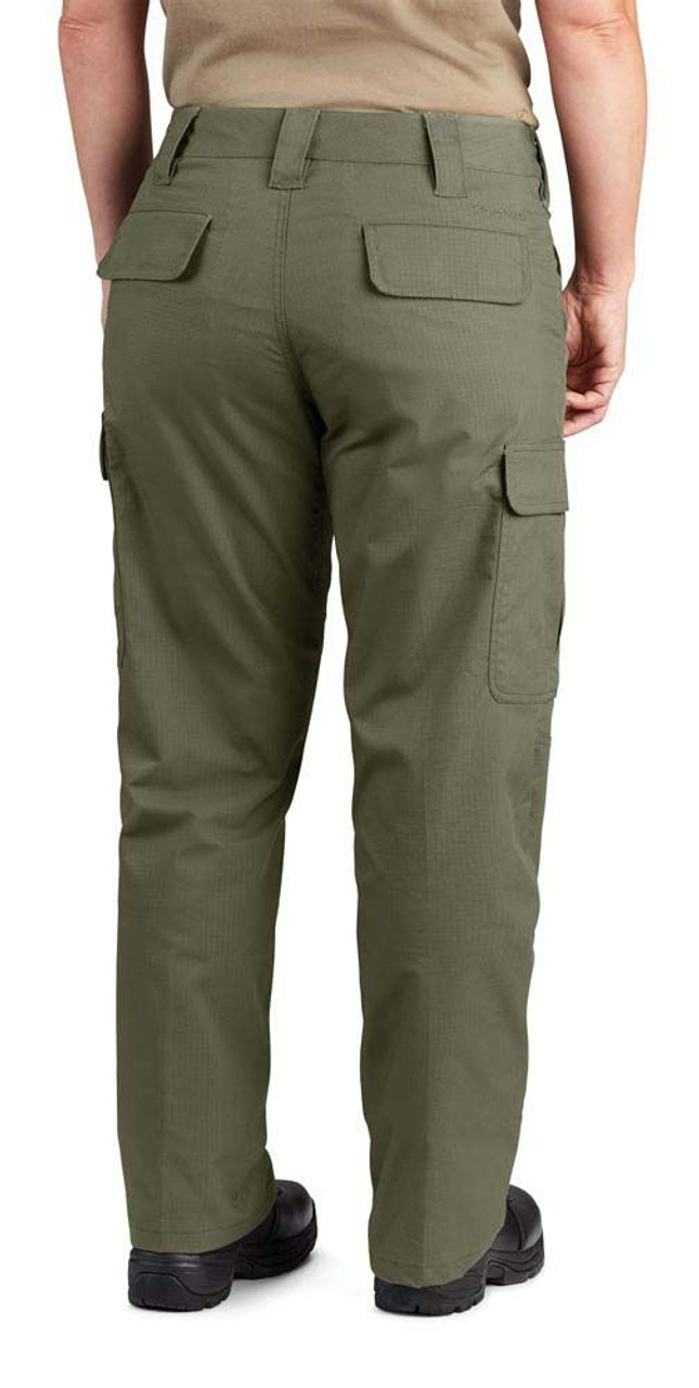 Propper F5259 Women's Kinetic Tactical Cargo Pants, Relaxed Fit, Knee Pad Pocket, Polyester/Cotton ripstop with DWR