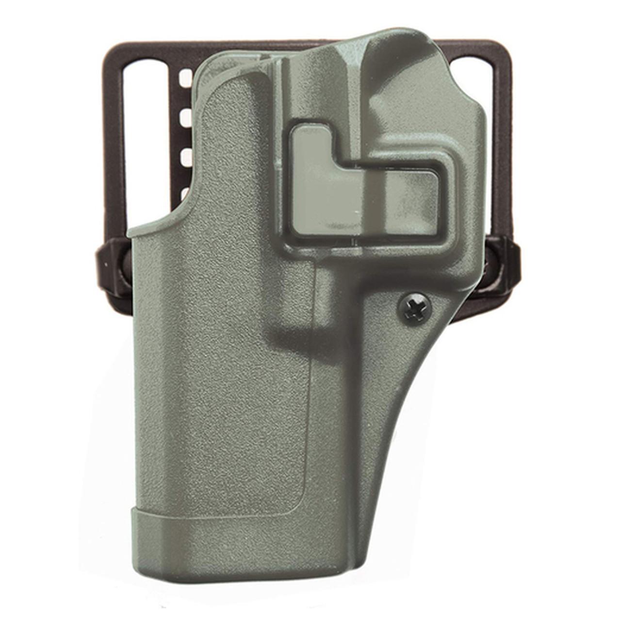 Blackhawk Durable Serpa Auto Lock Release CQC Concealment Holster Matte Black
