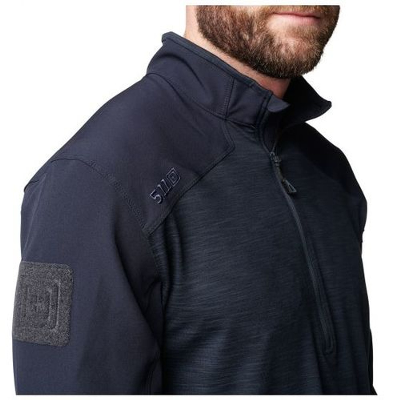 6533defef 5.11 Tactical MEN'S PULLOVER RAPID 1/4 ZIP, Moisture wicking and quick  drying,