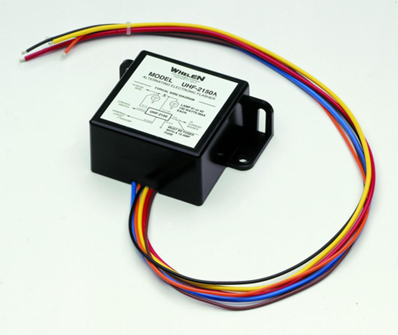 whelen power supply wiring diagram universal headlight flasher by whelen uhf2150a  headlight flasher by whelen uhf2150a