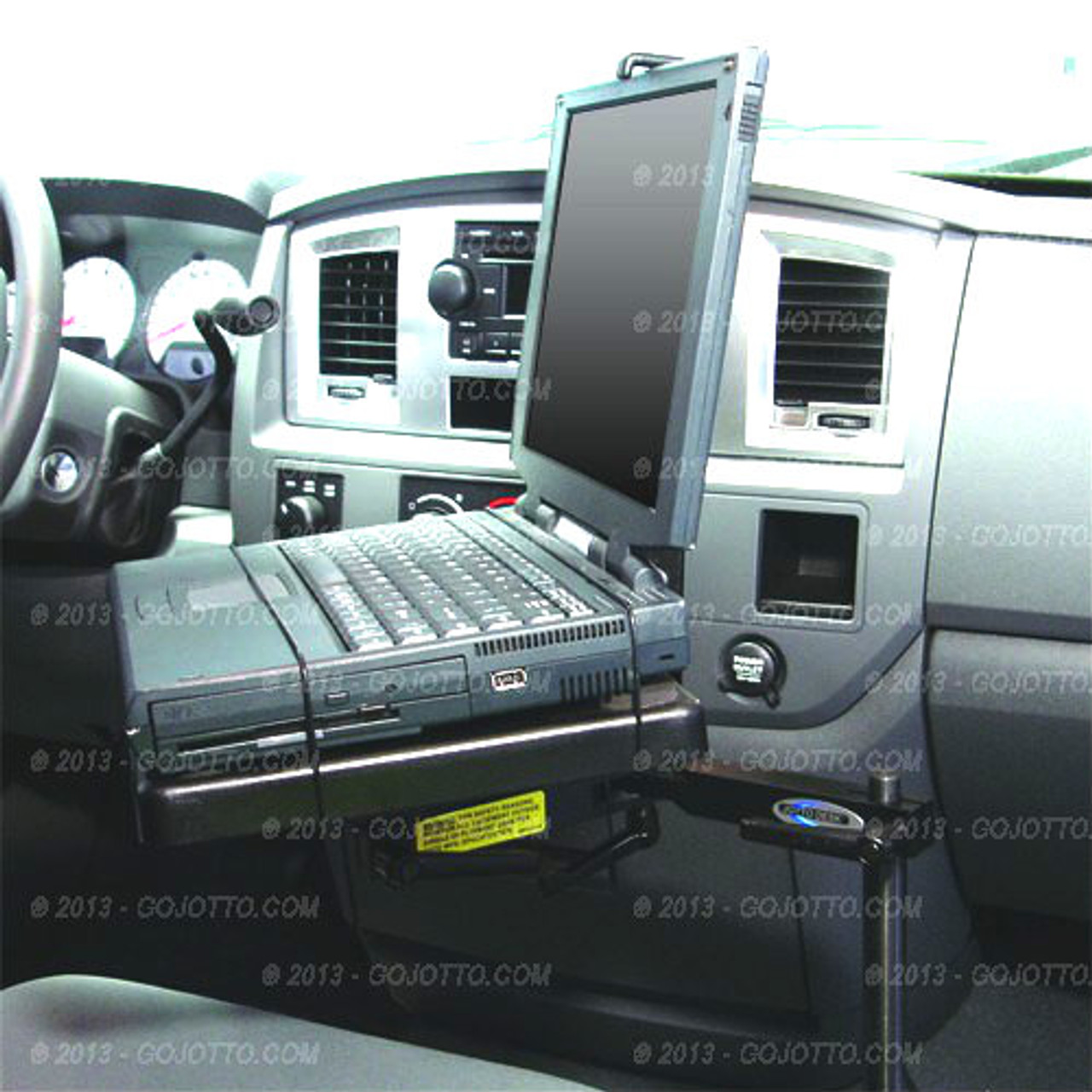Ram 1500 Laptop Mount Computer Stand by Jotto Desk 2002-2019