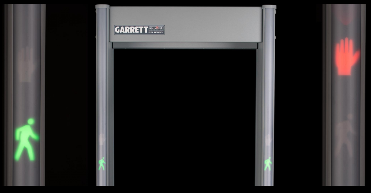 Garrett PD-6500i Mobile Walk-Through Security Metal Detector - Approved Product for Homeland Security under the SAFETY Act, TSA Certified