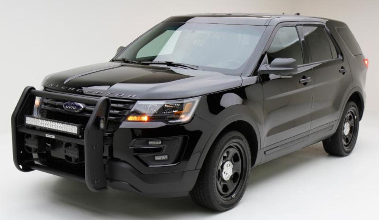 Bumper Guard For Suv >> Go Rhino Push Bar Brush Guard For Ford Police Interceptor Utility Suv Explorer 2013 2019