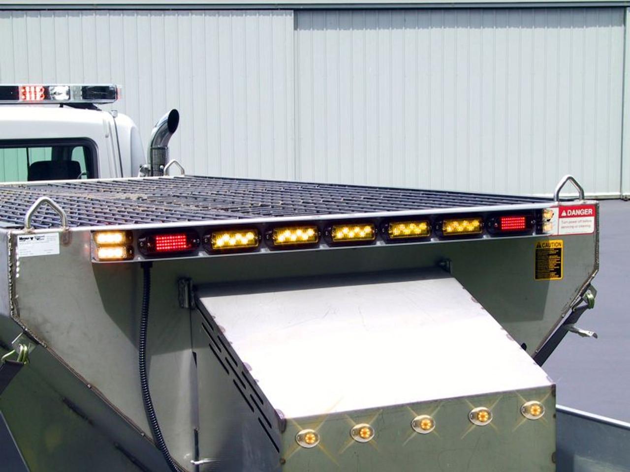 synchronized Utility Vehicle warning lights