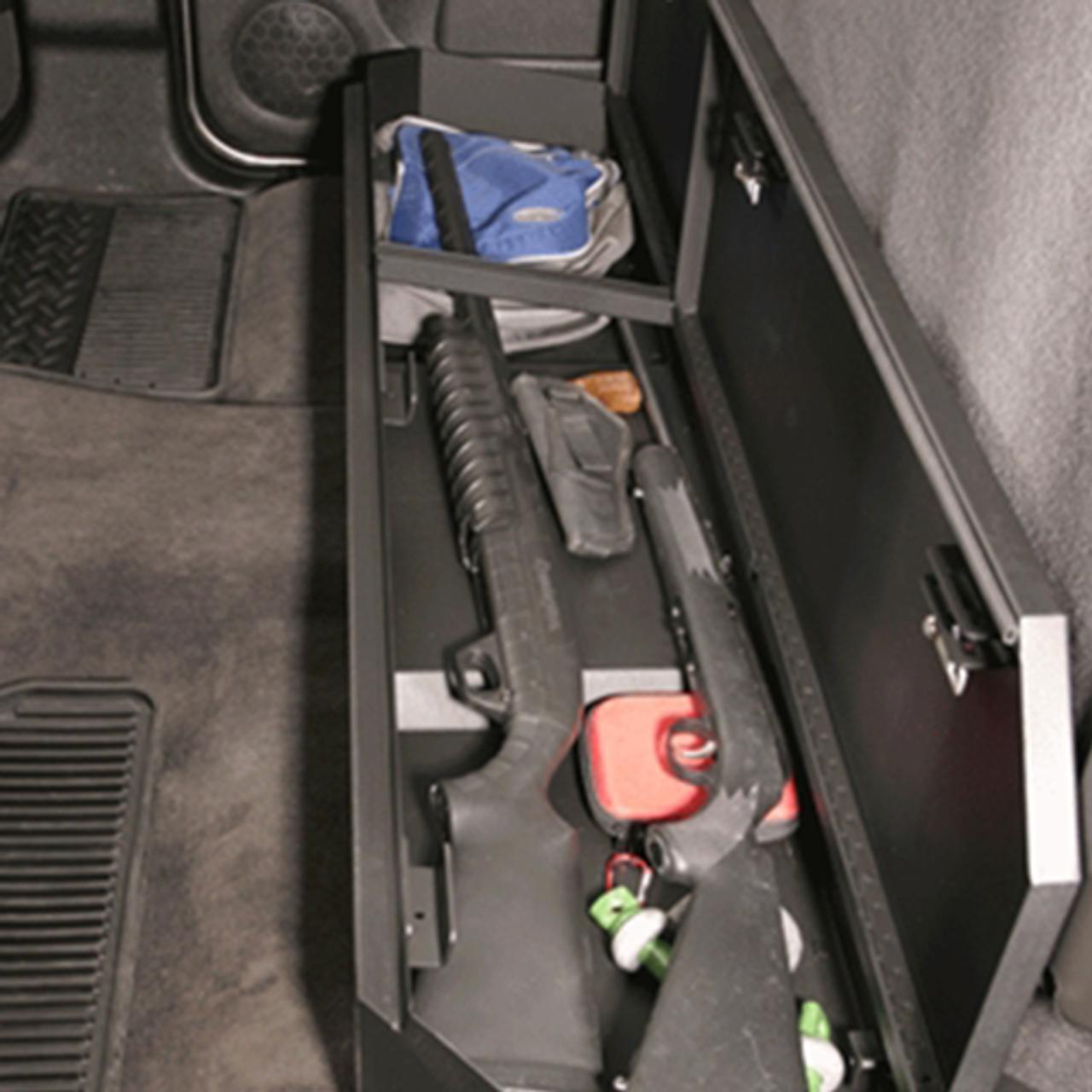 Fabulous Chevy Silverado Rear Seat Storage Organizer Lock Box Pdpeps Interior Chair Design Pdpepsorg