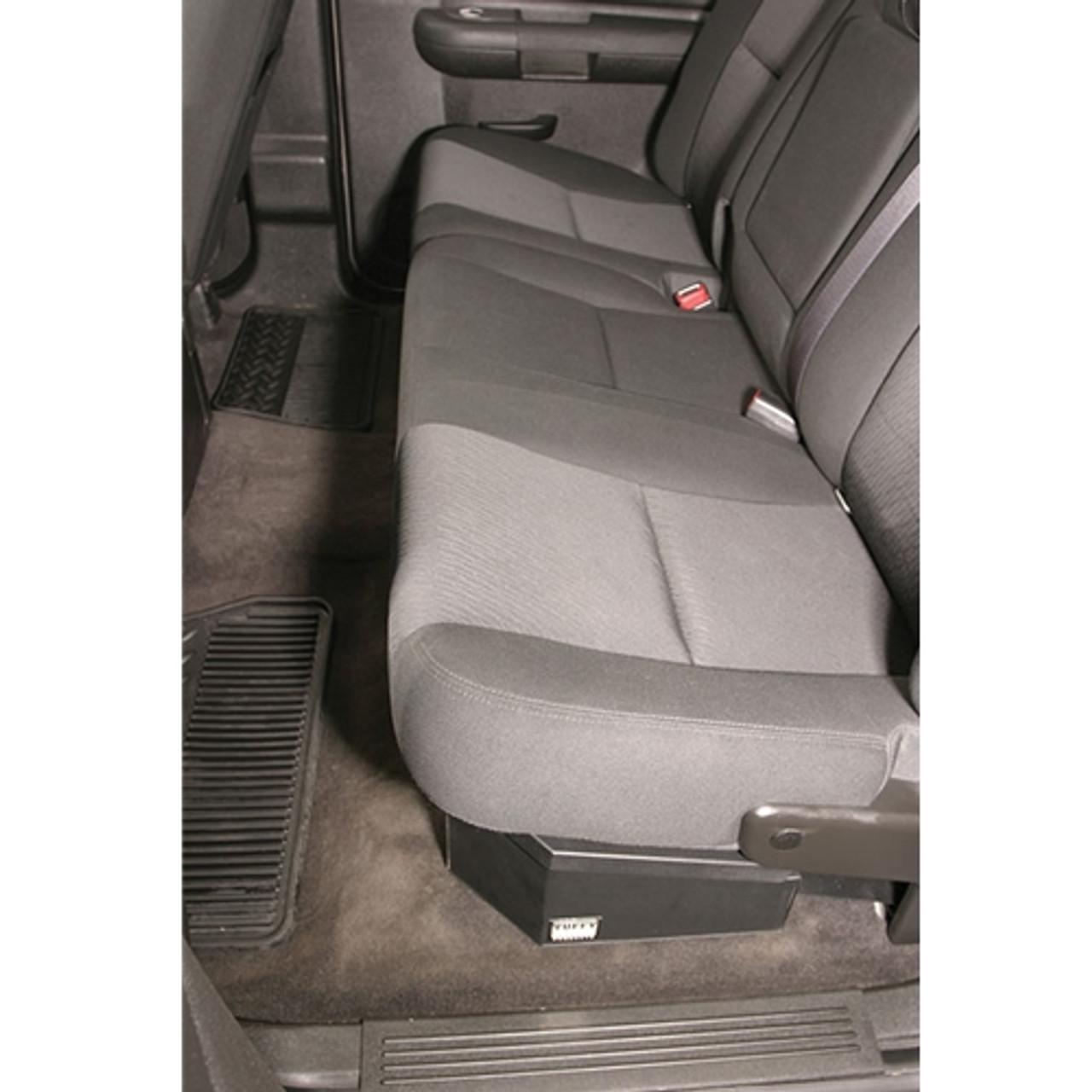Chevy Silverado Rear Seat Storage Organizer Lock Box