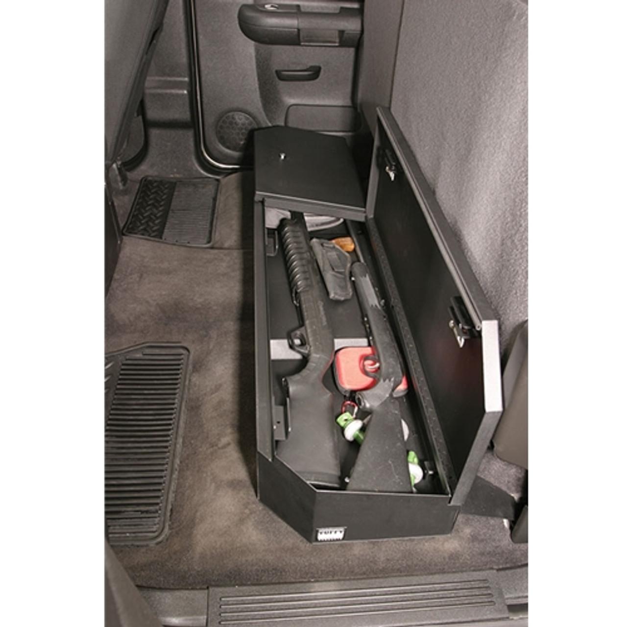 Marvelous Chevy Silverado Rear Seat Storage Organizer Lock Box Pdpeps Interior Chair Design Pdpepsorg