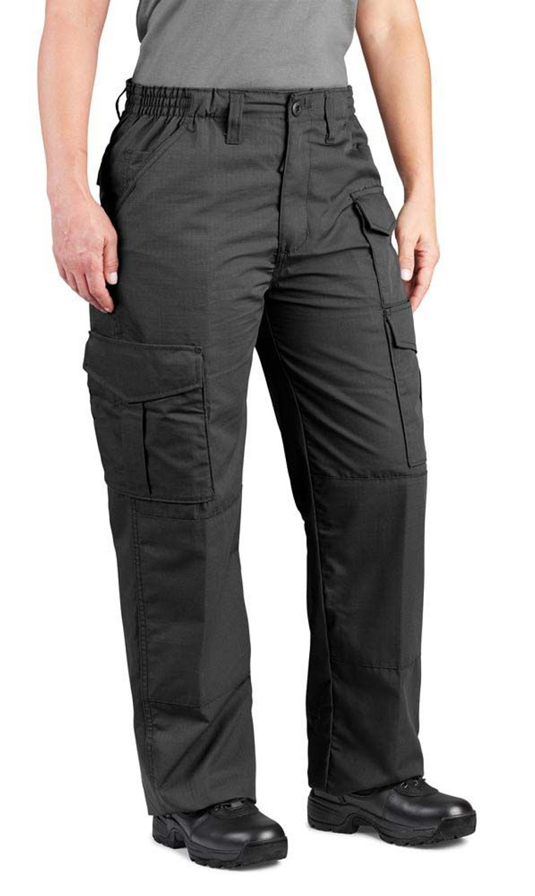 Propper F5272 Women's Uniform Cargo Pants, Relaxed Fit, Knee Pad Pockets, Ammo Pocket, Cotton/Polyester Fabric
