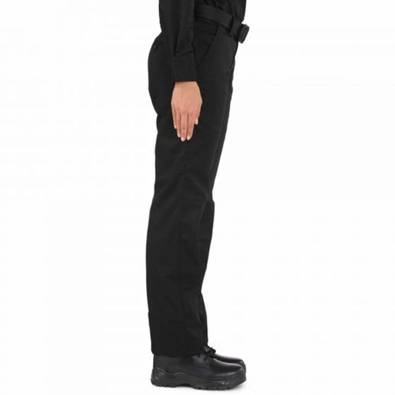 5.11 Tactical 64304 Women's Twill PDU Class-A Uniform Pants, Classic/Straight Fit, Polyester/Cotton, available in Black, Midnight Navy Blue, and Sheriff Green