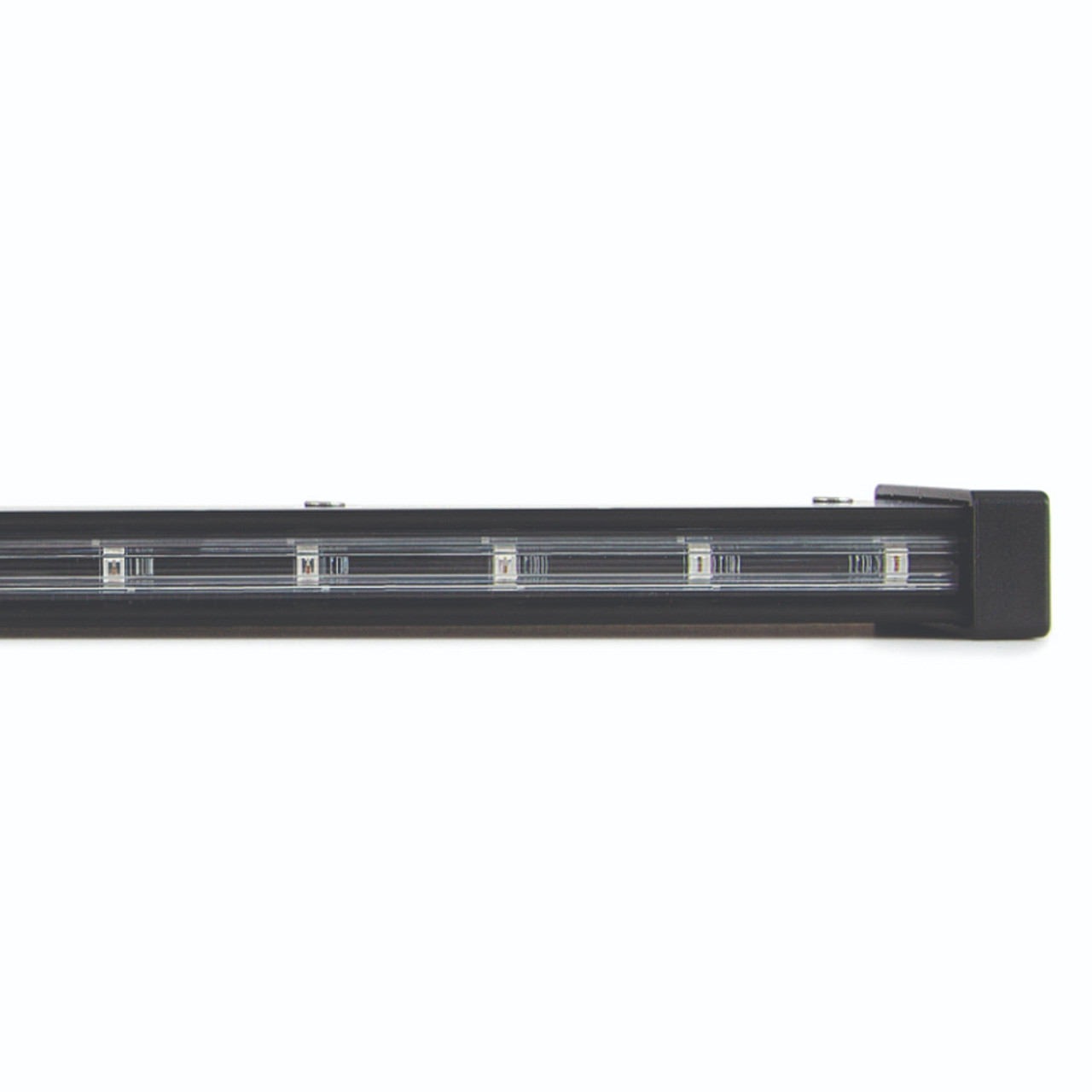SoundOff Signal ENL172 nLINE 60 inch Running LED Light Bar Stick Surface Mounts with Bracket, fits Sedans, SUVs, and Trucks, Compact Aluminum Housing, Weather Resistant, Newly Designed