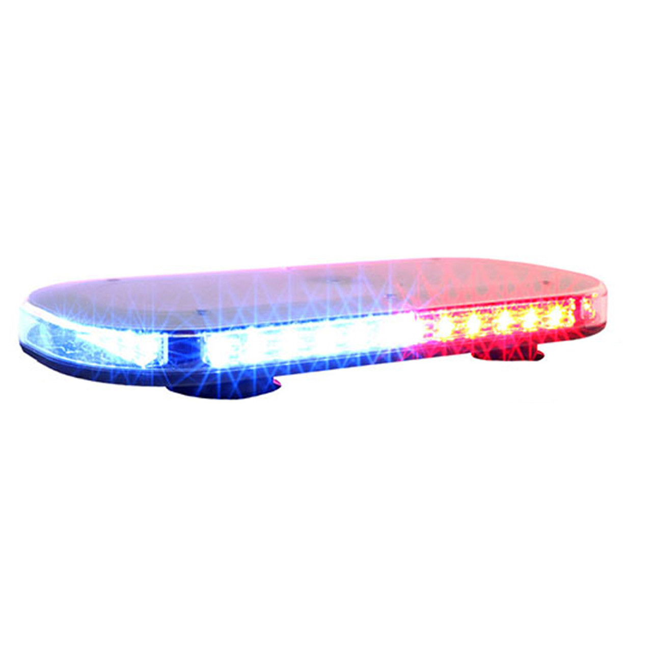 Brooking MB-EXD Dual Color Mini LED Extended Light Bar 72-Diode Micro-Bar, 16x7x1, Choose Magnetic or Permanent Mount