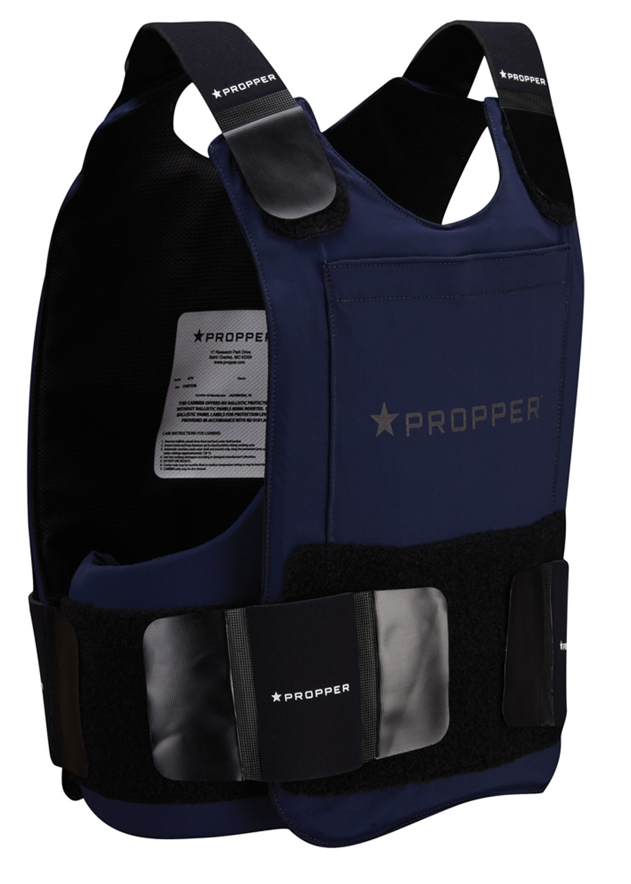 Propper® 4PV Men's Four Piece Ballistic Concealable Soft Body Armor Carrier - Choose Carrier only or Carrier and Plates - NIJ Certified Level 2 or Level 3A - optional Duty Uniform Armor Carrier