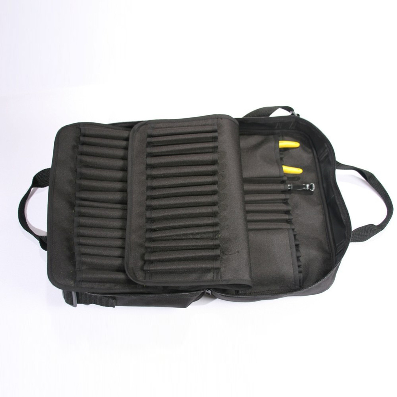 Jersey Tactical JC 5009-EP Evac Pac, can hold 96 Jersey Cuffs and 4 Safety Cutters, Black