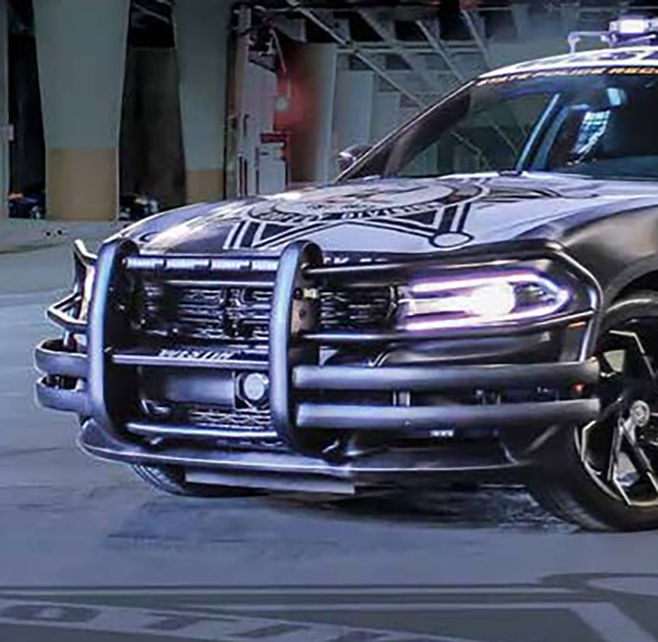 Westin Push Bar Lite Dodge Charger Pursuit 2011 2019 Brush Guard Optional Led Warning Lights Optional Pit Bar And Wing Wraps Dana Safety Supply