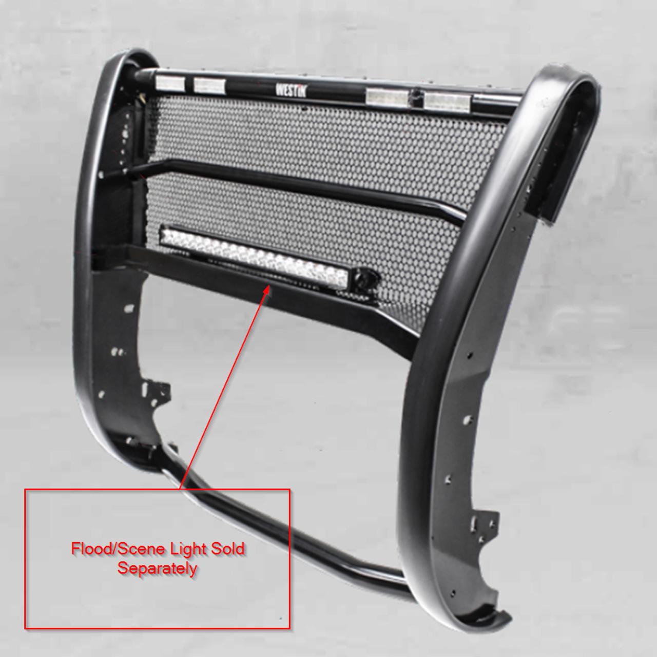 Westin 40-21015 Textured Black Sportsman X Sensor Kit Silverado 1500 2016-2018; Silverado LD 2019