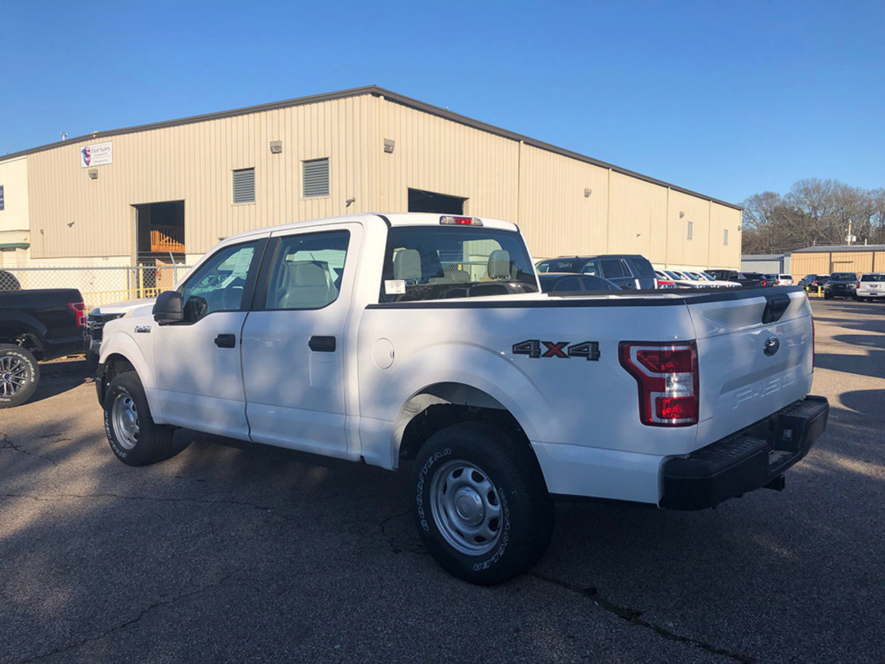 New 2021 Ford F-150 White 4x4 SSV V6 Special Service Truck, ready to be built as a Marked Patrol Package, choose any color LED Lights, + Delivery