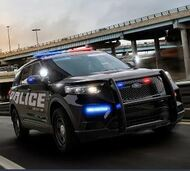 2020-2021 Ford Interceptor Utility