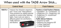 Whelen TADCTL1 Traffic Advisor Control Head for TAD8