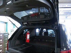 Rear Window Guard Kit for Ford Interceptor Utility, 2013-2019