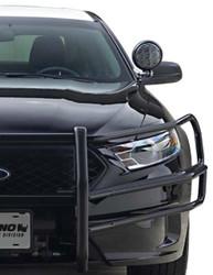 Go Rhino Ford Law Enforcement Interceptor Sedan Taurus Push Bar Brush Guard with Heavy Duty Wrap Arounds 2013-2019