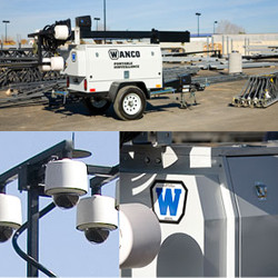 Portable Security Tower, Customizable, WCT by WANCO