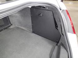 Interceptor Law Enforcement Sedan Passenger Side Trunk Mount by Havis 2013-2019