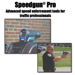 Handheld Radar SpeedGun Pro by MPH