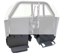 Setina Lower Extension Panels for Recessed Panel Partition Sedan Kit