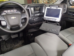 Tahoe 2015+ Heavy Duty Vehicle Mount by Havis