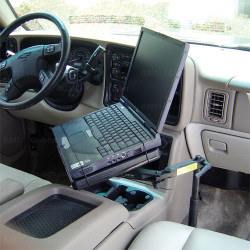 Tahoe Suburban SIlverado Sierra 2015+ Laptop Mount by Jotto Desk