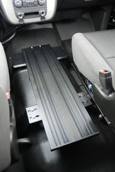 Tahoe Suburban Silverado Floor Plate Tunnel Mount by Havis 2015+
