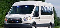 Ford Transit 2500 Public Safety Vinyl Wrap and Graphics, Available for all Van Models