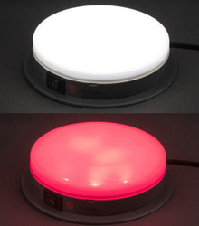 SoundOff Interior Cargo Dome Light, Red and White, for Law Enforcement Package Vehicles with plug-in connector for easy installation, ECVDMLTALDC