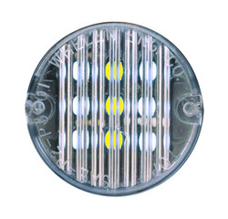 """Whelen 2"""" Round Super-LED Light head Compartment Light, 3 Levels of Intensity, In Stock, T0CACCCR"""