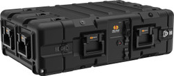 Pelican Hardigg Super V Series: 3U Transport for Rack Mountable Electronics, Available in Black, 40x26x12, 42 lbs