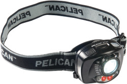 Pelican LED Headlamp, with Night Vision Friendly Red Light and Gesture Activation Control Technology, Black 2720