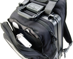 Pelican U100 Urban Backpack with built-in watertight and crushproof laptop case - Impact protected iPad®/Tablet front compartment, Available in Black