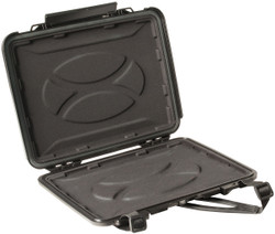 Pelican 1070CC HardBack Laptop Case - Watertight, Crushproof, and Dustproof, includes shoulder strap and Foam insert, Available in Black, 17x12x7, 14 lbs