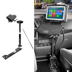 Gamber Johnson 7170-0226 Laptop, Tablet, Keyboard Mount Kit for Ford Transit 2015+ and Mercedes-Benz Metris 2016+ Van Stand Alone