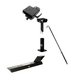 Gamber Johnson 7170-0501 Laptop, Tablet, Keyboard Mount Kit for Dodge (2004-2009), Freightliner (2004-2015), Mercedes (2004+) Sprinter Stand Alone